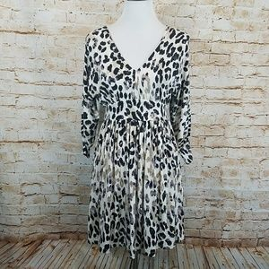 Tart Leopard Cheetah Print Modal Dress
